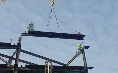 REI Headquarters Topping Out