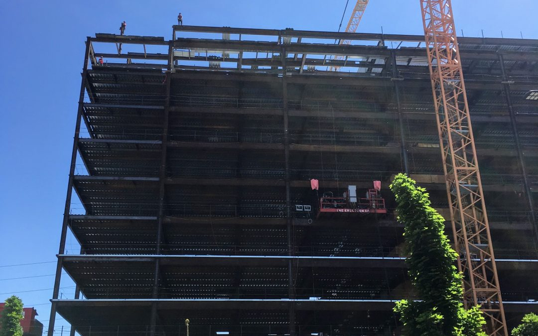Facebook Building Topping Out – Spring District