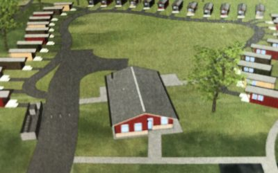 Orting Veterans Village Breaks Ground