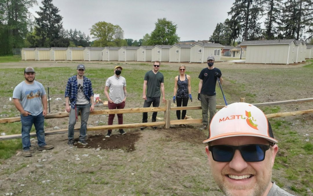 Volunteer Day at Orting Veterans Village