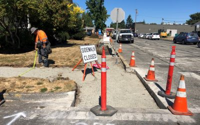 Sidewalk Replacements in Sumner
